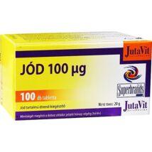 JutaVit Jód 100μg tabletta 100x