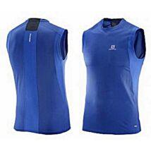 Salomon Trail runner Sleeveless (férfi) ujjatlan futófelső (kék) L39259800