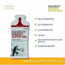 SQUEEZY ENERGY SUPER GEL KOFFEINNEL TASAK / 33G