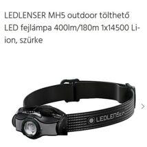 LED LENSER MH5 outdoor tölthető LED fejlámpa MH5-501598