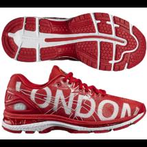 Asics Gel Nimbus 20 (férfi) futócipő (piros) London felírattal T8C0N-2323