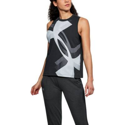 Muscle Tank Overlay Logo-BLK