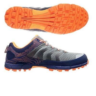 inov-8 Roclite 295 (férfi) futócipő (szürke-narancs-kék) Standard Fit (Shoes)