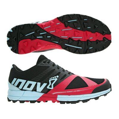inov-8 Terraclaw 250 női terepfutócipő (fekete-málna-kék) Standard fit (Shoes)