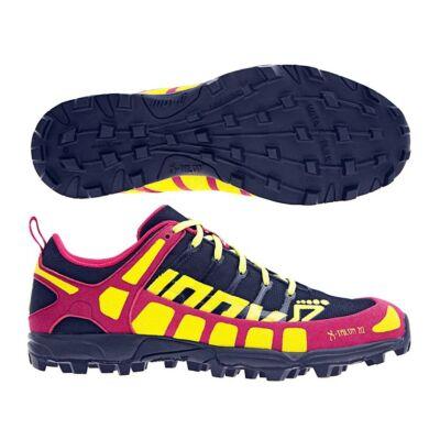inov-8 X-Talon 212 női terepfutócipő (fekete-málna-sárga) Precision fit (Shoes)