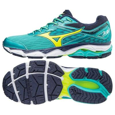 Mizuno WAVE ULTIMA 9 (W)/Ceramic/SYellow/Peacoat J1GD170944