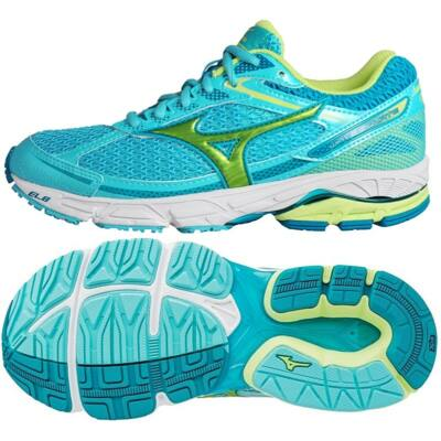 Mizuno WAVE EQUATE BlueRad/SharpGreen/TileB női futócipő J1GD174837