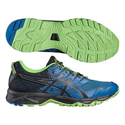 Asics Gel-Sonoma 3 férfi futócipő (kék-fekete-zöld) T724N-4990