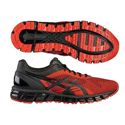 online retailer 8e6a3 4624f Asics Gel-Quantum 360 Knit (férfi) futócipő (piros-fekete-ónix) T728N-2690