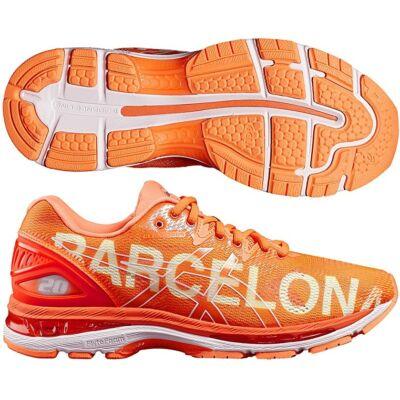 Asics Gel Nimbus 20 (női) futócipő (narancs) Barcelona felírattal T8B7N-3030