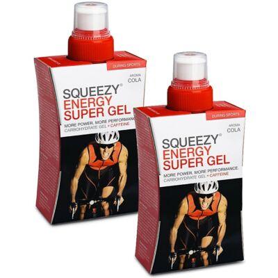 Squeezy Energy Super Gel 125ml. utántölthetős ivókulacsban