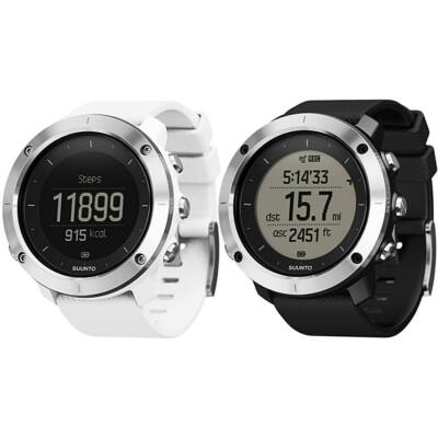 Suunto Traverse Black and White sportóra SS021842000