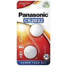 Panasonic CR2032L/2BP lítium gombelem (2 db / bliszter) CR2032-2B-PAN