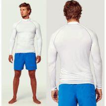 Proact® UV szűrős unisex, fehér póló UPF50+
