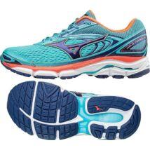 Mizuno Wave Inspire 13 BlueRadiance/Blueprint női futócipő J1GD174425