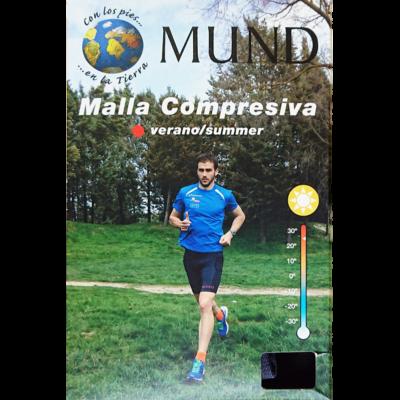 Mund Malla Summer kompressziós nyári futónadrág MU343