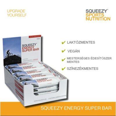 SQUEEZY ENERGY SUPER BAR energiaszelet koffeinnel