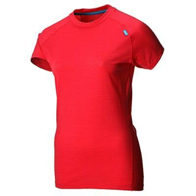 inov-8 Base Elite 95 Merino (női) rövid ujjú futópóló aláöltözet (borbolya) 505097 3976