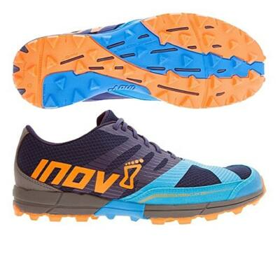 inov-8 Terraclaw 250 férfi terepfutócipő (tengerkék-kék-narancs) Standard fit (Shoes)