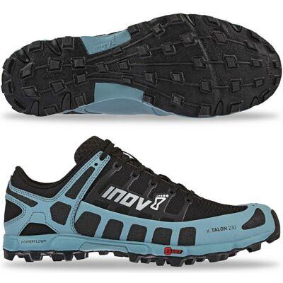 inov-8 X-Talon 230 v2 (női) futócipő (fekete-kék) Precision Fit