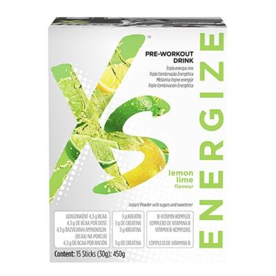 XS™ Pre-Workout Drink Citrom-zöldcitrom ízű 121602